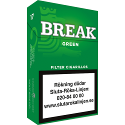 Break Green Filter Cigariller
