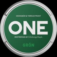 Göteborgs Rapé ONE Grön