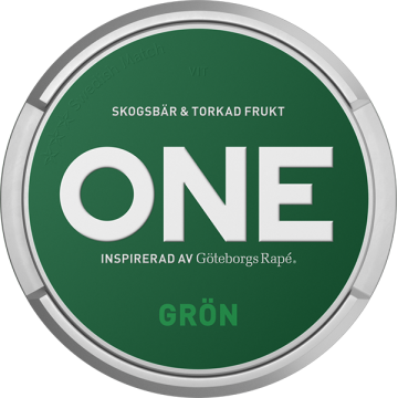 ONE Grön White Portion
