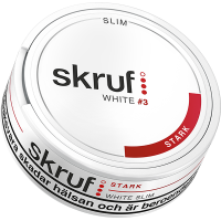 Skruf Slim Stark White Portion