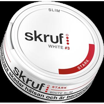 Skruf Slim Stark White Portion