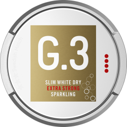 G3 Sparkling Extra Strong Slim White Dry Portion
