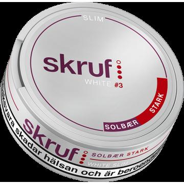 Skruf Solbär Strong Slim White Portion