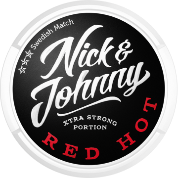 Nick and Johnny Red Hot Extra Strong Portion