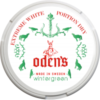 Odens Extreme Wintergreen White Dry Portion