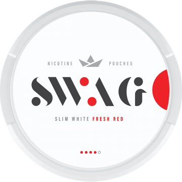 SWAG Fresh Red Strong Slim All White