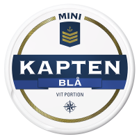 Kapten mini Blå Vit Portion