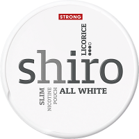 Shiro Licorice Strong