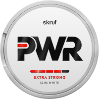 Skruf PWR Extra Strong Slim White Portion