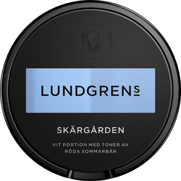 Lundgrens Skärgården Vit Portion