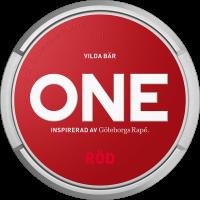 ONE Röd White Portion