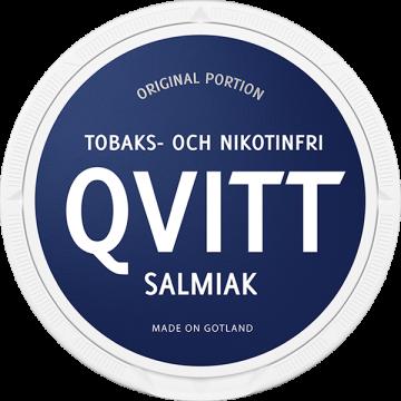 Qvitt Salmiak Nikotinfri Portion