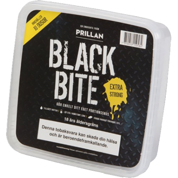 Prillan Portion Black Bite Snussats