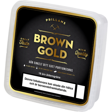 Prillan Portion Brown Gold 500 Snussats
