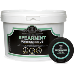 Swedsnus Portion Spearmint 1000