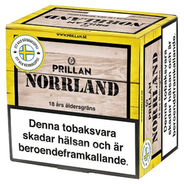 Prillan Norrland Lös Snussats 1KG