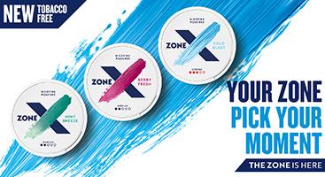 NYHET - ZoneX All White - Billigt Snus Online