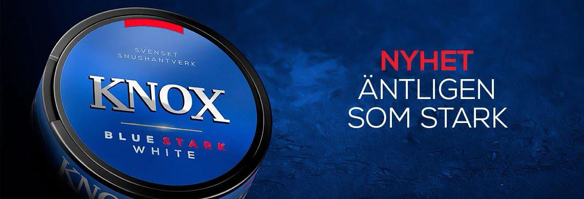 Knox blue Stark Portionssnus - NYHET - Billigt snus online