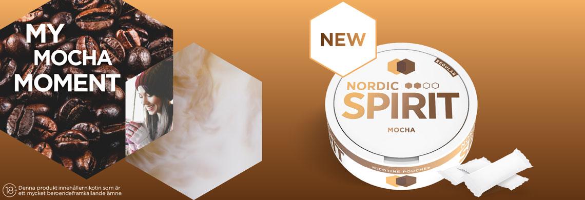 Nordic Spirit Mocha Slim All White - Billigt Snus Online