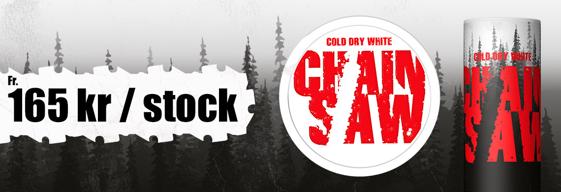 Chainsaw Cold Dry White - 165 kr