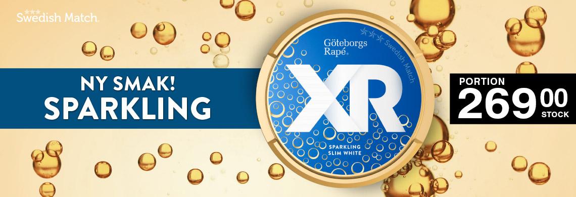 Nya XR GR Sparkling - Online Pris - Billigt Snus Online